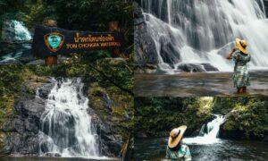น้ำตกโตนช่องฟ้า – Tone Chong Fah Waterfall – เขาหลัก พังงา
