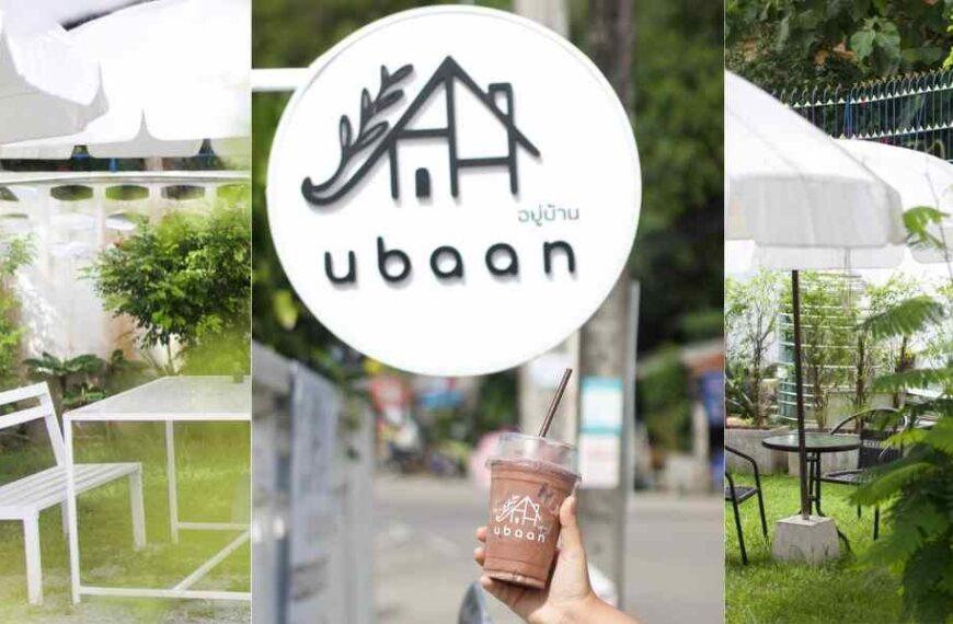 คาเฟ่เปิดใหม่ Ubaan อยู่บ้าน คาเฟ่ ตลาดใหญ่ ภูเก็ต