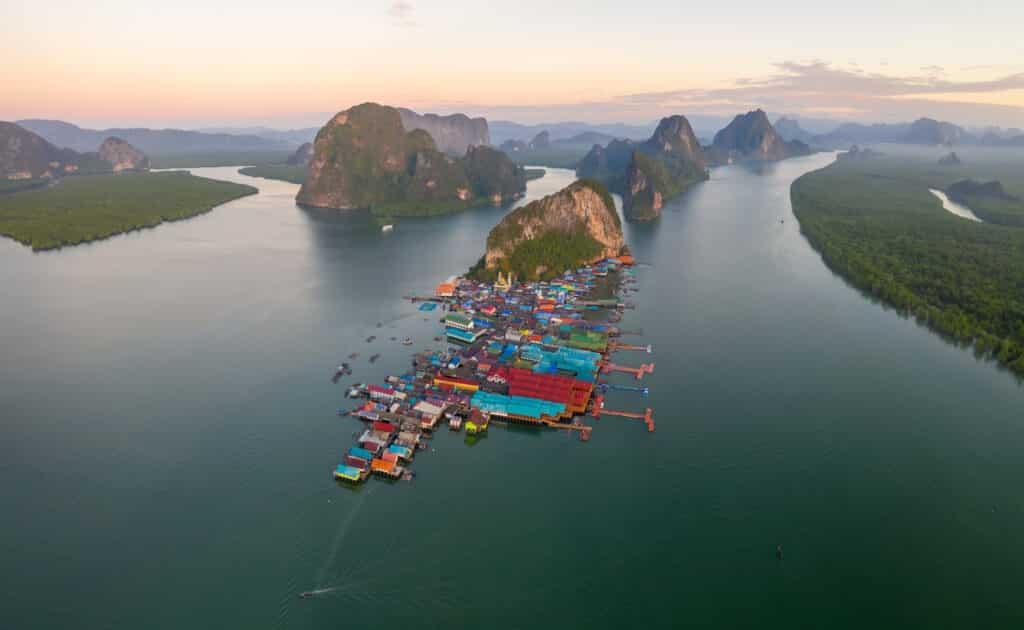 เกาะปันหยี ที่เที่ยวพังงา