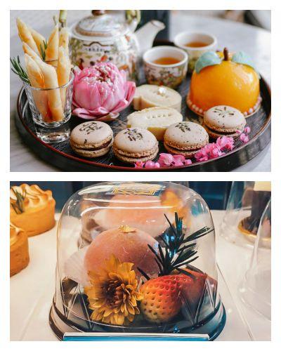 delico decoration coffee and dessert