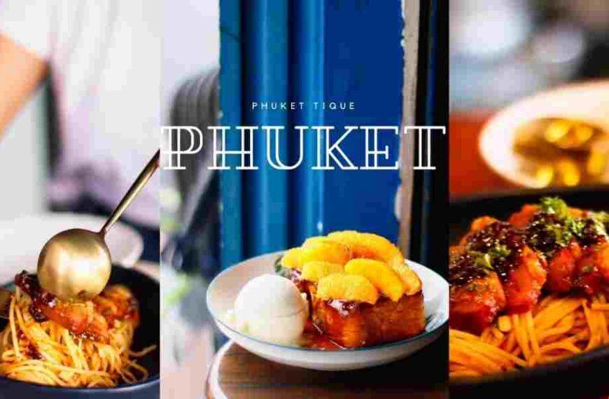 ร้าน Phuketique ร้านของหวาน ย่านเมืองเก่า ภูเก็ต