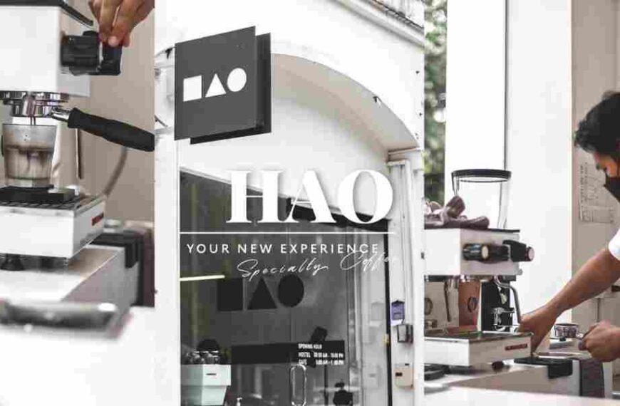 Hao specialty coffee cafe คาเฟ่สุดมินิมอล ย่าน ภูเก็ต